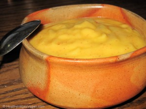 fruit soup- apple mango
