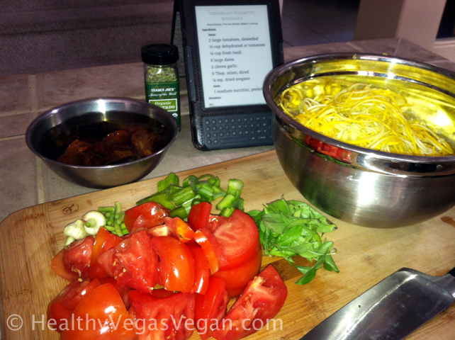"""Savory Raw Dinner Recipes – My Favorite """"Cooking"""" Video"""