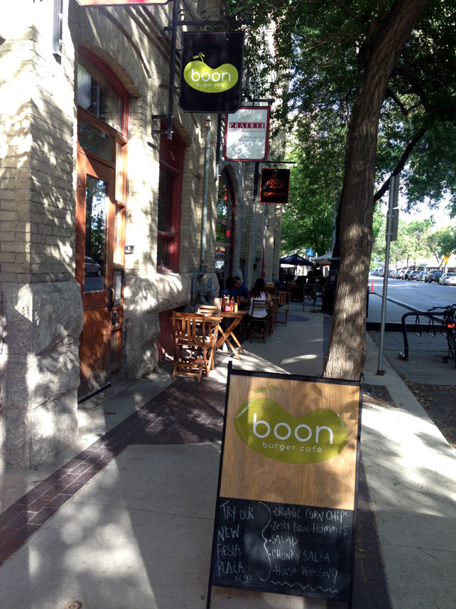 14. Winnipeg Boon Burger outside
