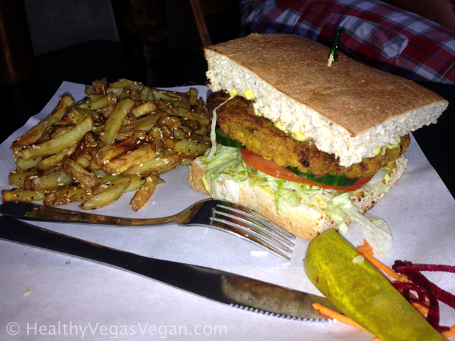 14. Winnipeg Boon Burger vegan Buddha Burger