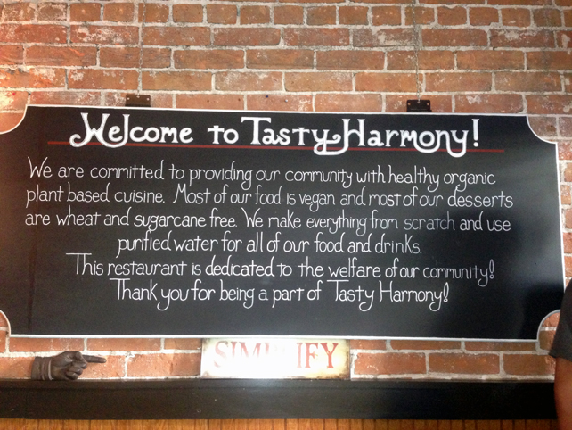 6. Colorado Tasty Harmony sign