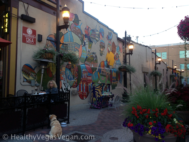 7. Colorado Fort Collins old town alley