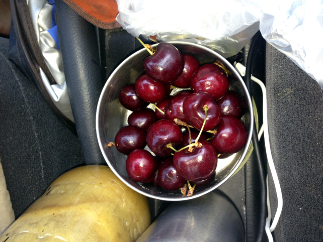 8. Wyoming cherries snack