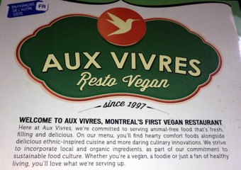 Aux Vivres: Love this Vegan Cafe in Montreal!