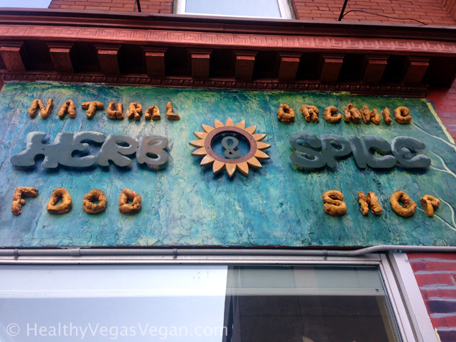 Ottawa Herb and Spice Shop sign