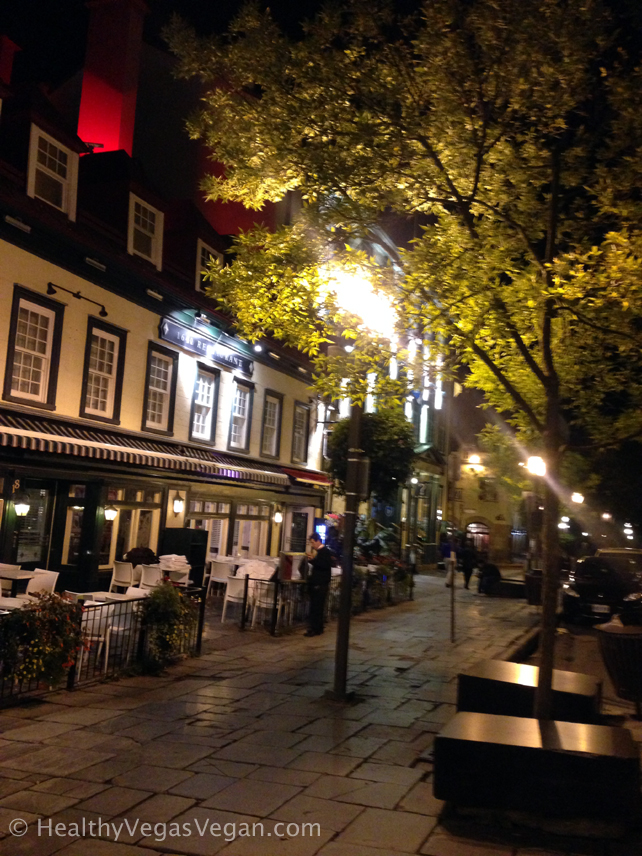 Strolling Quebec City's Old Town: My Healthy Road Trip Days 47-48