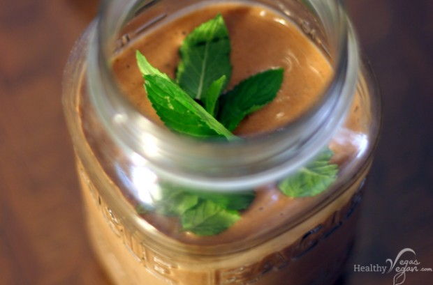 Raw Mint Chocolate Shake Recipe