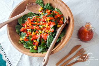 My 2-Ingredient Gourmet Salad Dressing