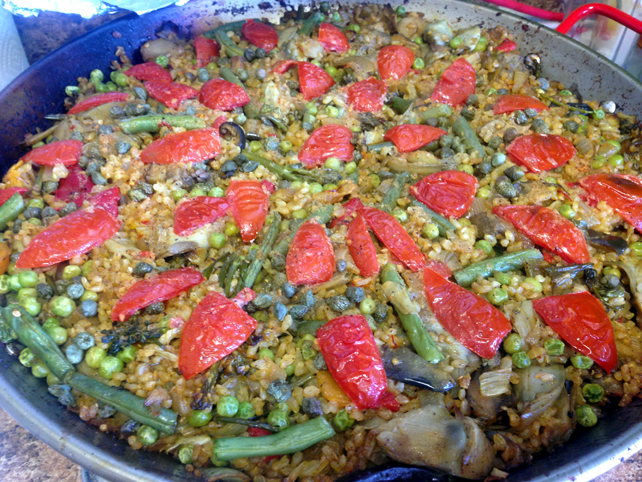 SSE Vegan Paella by Garden Grill LV