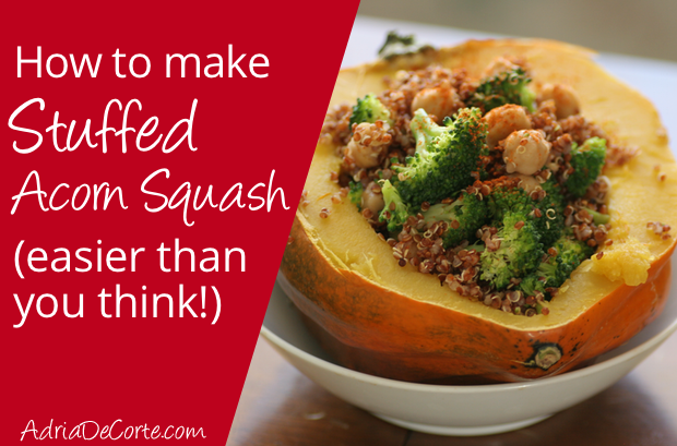 Stuffed Acorn Squash – It's Easier Than You Think!
