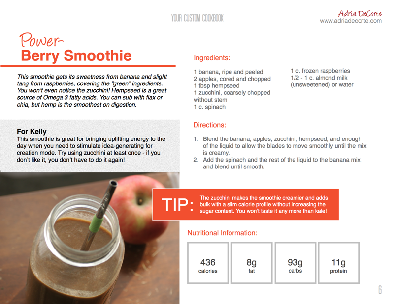 Power-Berry Smoothie Recipe