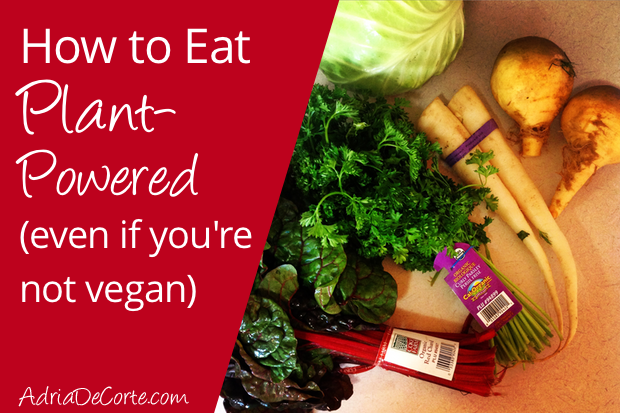 How to Eat Plant-Powered (even if you're not vegan)