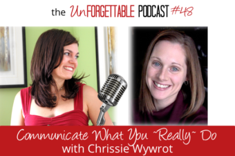#48 Communicate What You *Really* Do with Chrissie Wywrot