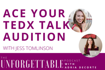 #89 Ace Your TEDx Talk Audition with TEDx Organizer Jess Tomlinson