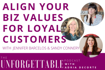 #118 Align Your Biz Values For Loyal Customers with Namastream Founders Jennifer Barcelos & Sandy Connery